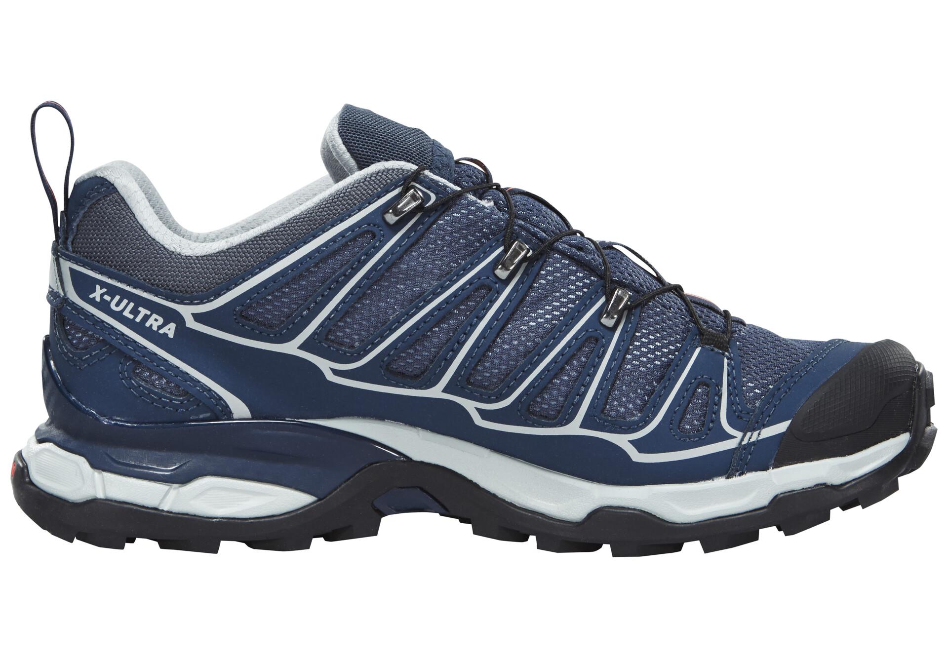 X 2 Chaussures bleu Salomon sur GTX Femme Ultra CAMPZ XiuOkZPT